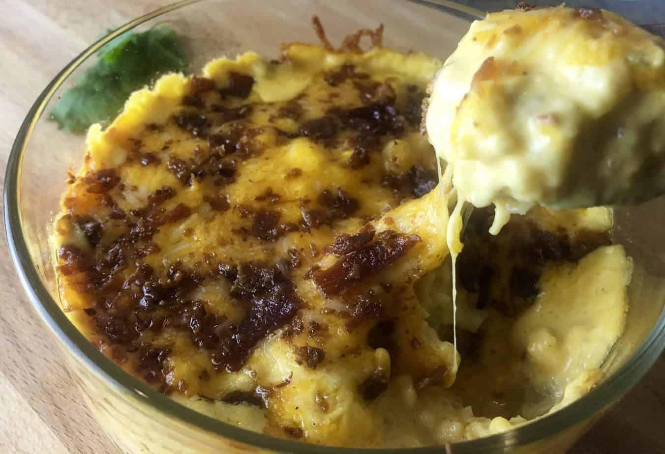 Califlower Mac and Cheese