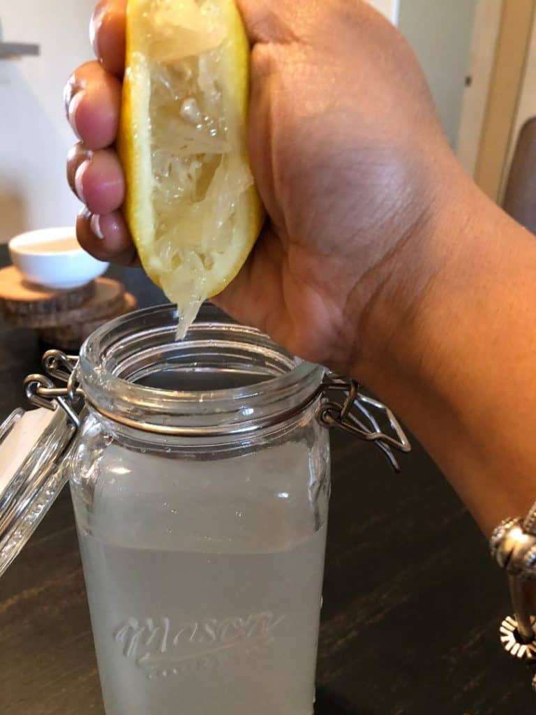 Freshly Squeezed Lemon