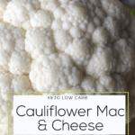 LSW Cauliflower Mac and cheese Pinterest Graphic