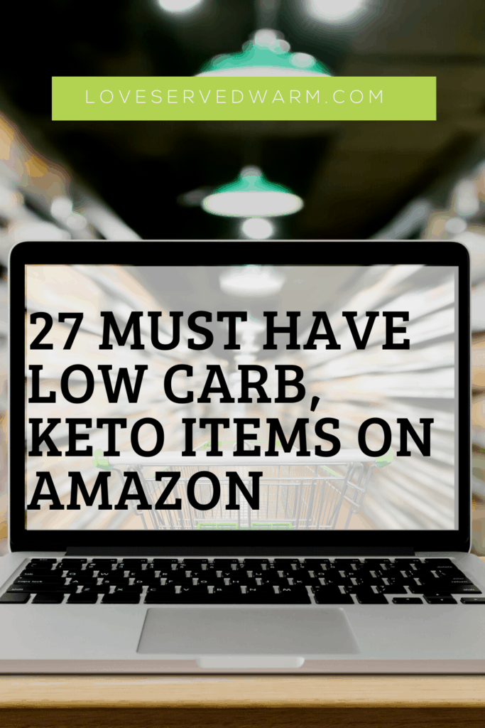 Must have low carb, keto items on amazon