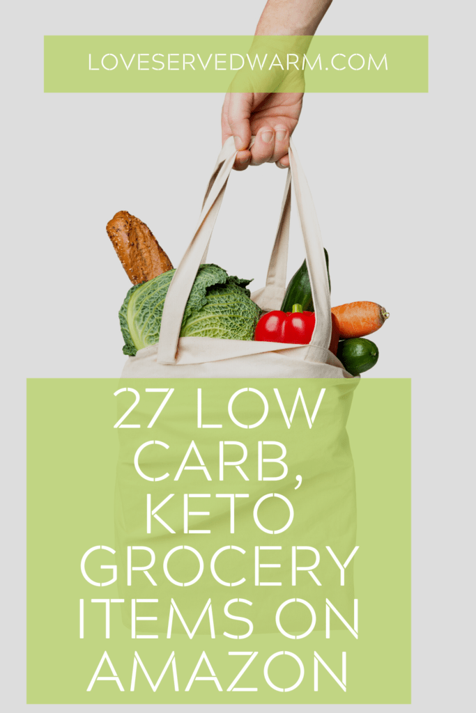Low carb keto grocery list