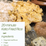 Low Carb Keto Fried Rice