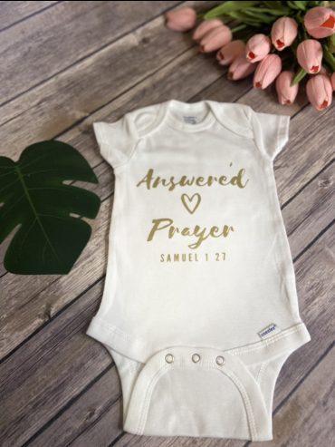 Answered Prayer Onsie